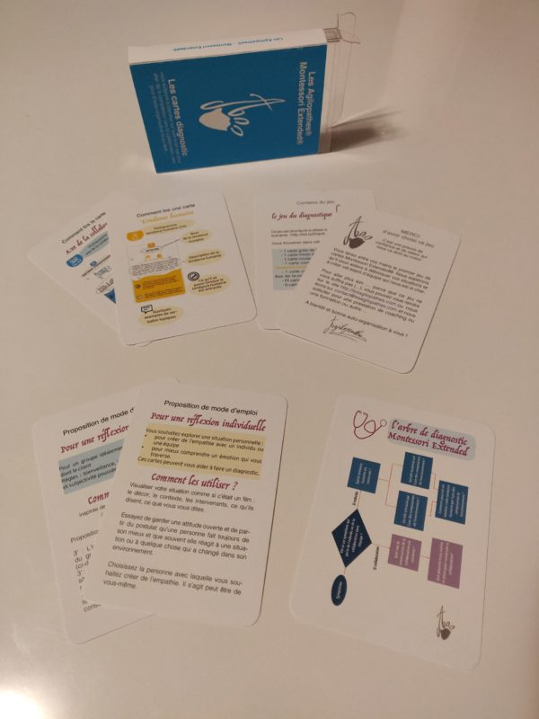 Deck of diagnostic cards